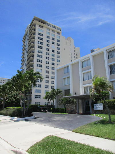 West Palm Beach Condo Sold: 1527 S Flagler Drive #203f