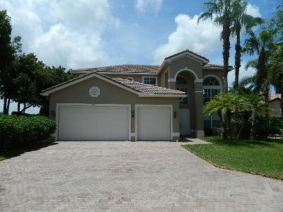 Delray Beach Single Family Home For Sale: 9847 Savona Winds Drive