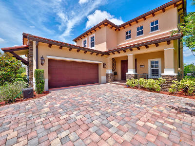 Jupiter Single Family Home For Sale: 197 Andros Harbour Place