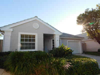 Palm Beach Gardens Single Family Home For Sale: 58 Admirals Court