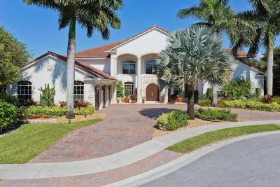 Palm Beach County Single Family Home For Sale: 2484 Mizner Lake Court