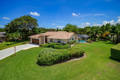 Delray Beach Single Family Home For Sale: 4664 Sunrise Boulevard