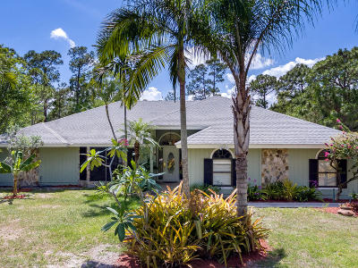 Jupiter Single Family Home For Sale: 16417 130th Way