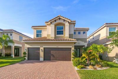 Boynton Beach Single Family Home Contingent: 11692 Mantova Bay Circle