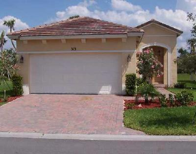 Port Saint Lucie Single Family Home Contingent: 313 SW Coconut Key Way