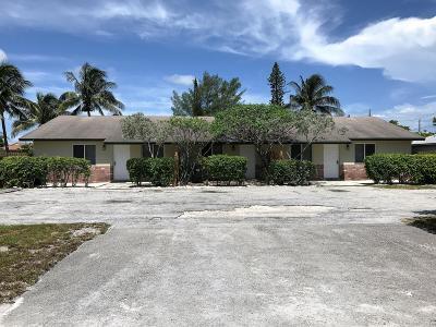 Delray Beach Multi Family Home For Sale: 1040 Miami Boulevard