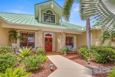 Jupiter Single Family Home For Sale: 18946 SE Coral Reef Lane
