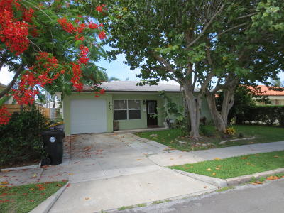 Lake Worth Single Family Home For Sale: 170 Wellesley Drive