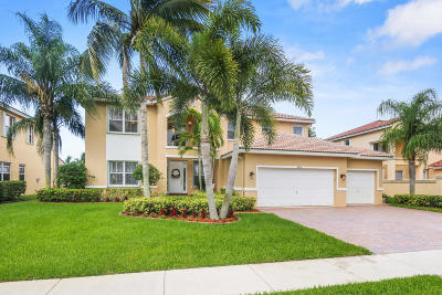 Lake Worth Single Family Home For Sale: 6758 Finamore Circle
