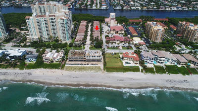 Highland Beach Single Family Home For Sale: 3628 S Ocean Boulevard