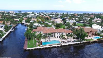 Ocean Ridge Single Family Home For Sale: 97 S Island Drive