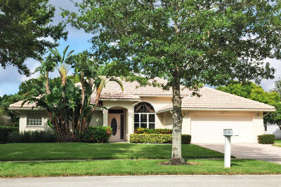 Jupiter Single Family Home For Sale: 1021 Egret Circle