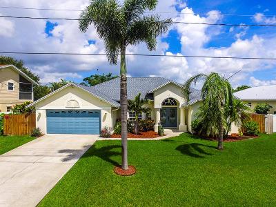 Port Saint Lucie Single Family Home Contingent: 177 NE Sagamore Terrace