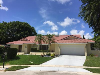 Estancia West, Estates Boca Lane, Estates Section, The Estates Single Family Home For Sale: 20815 Cipres Way