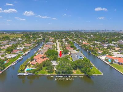 North Palm Beach Single Family Home For Sale: 654 Riverside Road