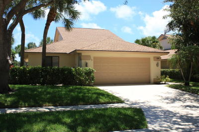 Jupiter Single Family Home For Sale: 123 Sea Steppes Court