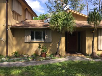 Palm Springs Single Family Home For Sale: 1828 Prairie Road
