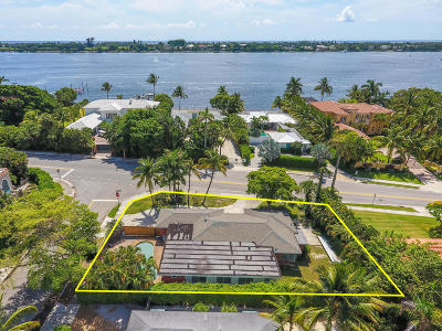 West Palm Beach Single Family Home For Sale: 3015 Flagler Drive