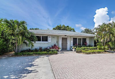 West Palm Beach Single Family Home Contingent: 246 Gray Street