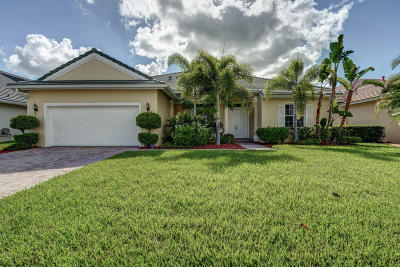 Port Saint Lucie Single Family Home For Sale: 176 NW Magnolia Lakes Boulevard