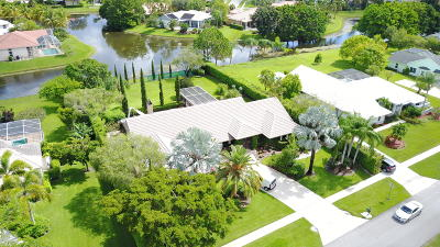 Wellington Single Family Home Contingent: 15540 Meadow Wood Drive