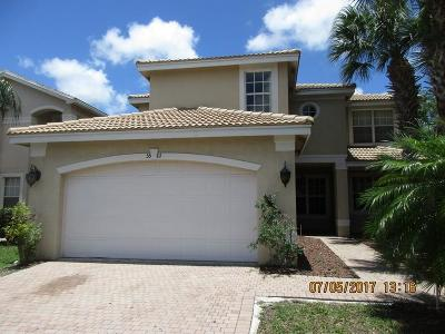 Greenacres Single Family Home Contingent: 5501 Baja Terrace