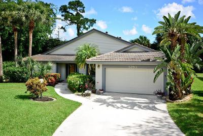 Jupiter Single Family Home For Sale: 5793 Marblewood Court