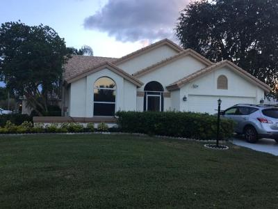Wellington Single Family Home For Sale: 2005 White Coral Court