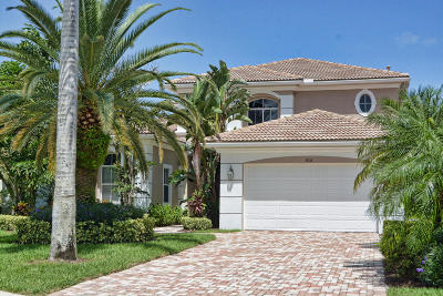 Palm Beach Gardens Single Family Home For Sale: 816 Floret Drive
