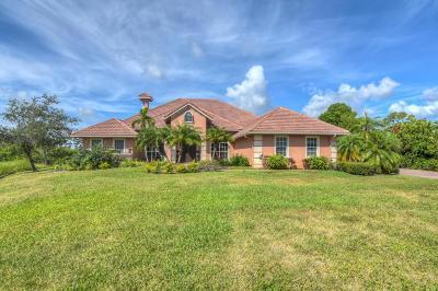 Port Saint Lucie Single Family Home For Sale: 12211 Riverbend Court