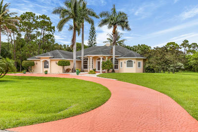 West Palm Beach Single Family Home For Sale: 12459 72nd Court