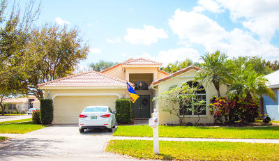 Delray Beach Single Family Home Contingent: 4132 Sabal Lakes Road