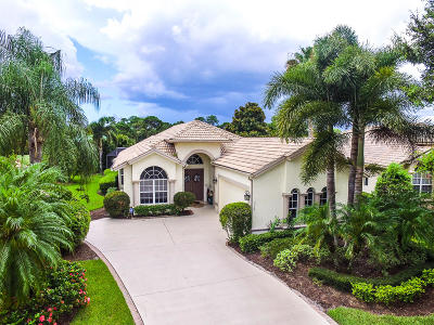 Port Saint Lucie Single Family Home For Sale: 7310 Mystic Way