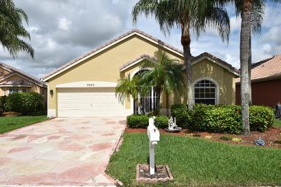 Delray Beach Single Family Home For Sale: 7942 Stirling Bridge Boulevard S