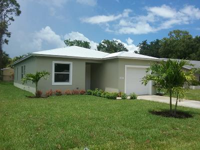Jupiter Single Family Home Contingent: 6941 4th Street