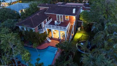 Broward County, Palm Beach County Single Family Home For Sale: 6260 Ocean Boulevard