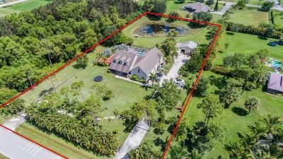 West Palm Beach Single Family Home For Sale: 12136 Hamlin Boulevard