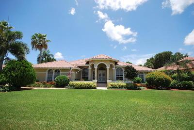 Boynton Beach Single Family Home For Sale: 4168 Gleneagles Drive
