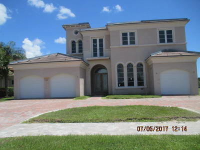 Port Saint Lucie Single Family Home For Sale: 138 SE Rio Angelica