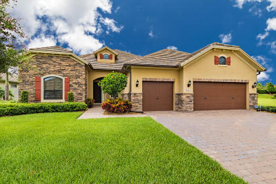 Wellington Single Family Home For Sale: 4663 Siena Circle