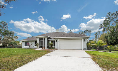 Loxahatchee Groves Single Family Home For Sale: 3759 D Road