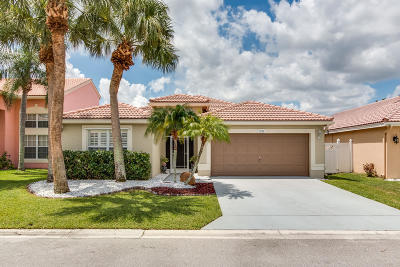 Boynton Beach Single Family Home For Sale: 8205 White Rock Circle