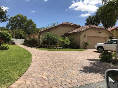 Boca Raton Single Family Home For Sale: 7229 Arcadia Court