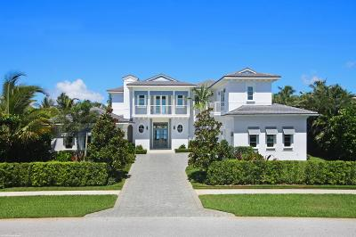 Manalapan Single Family Home For Sale: 1245 Lands End Road