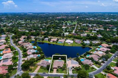 Delray Beach Single Family Home For Sale: 4906 Pineview Circle