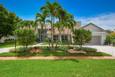 Broward County, Palm Beach County Single Family Home For Sale: 17663 Foxborough Lane