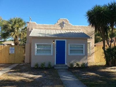 West Palm Beach Single Family Home For Sale: 715 53rd Street
