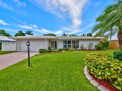 Boca Raton Single Family Home Contingent: 370 NW 11th Avenue