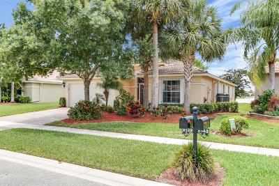 Boynton Beach Single Family Home For Sale: 8139 Duomo Circle