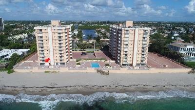 Highland Beach Condo For Sale: 4511 S Ocean Boulevard #107